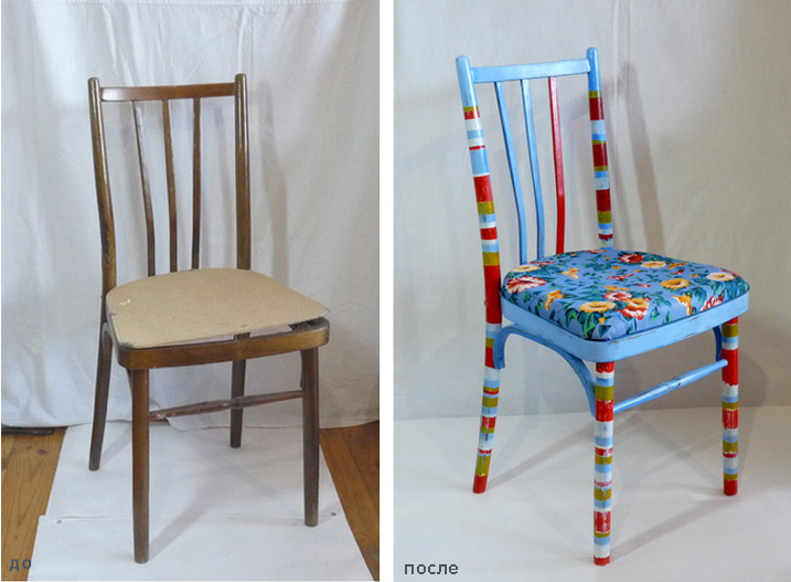 Своими руками обновить старое кресло 347