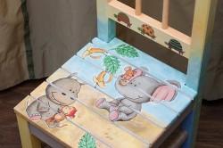 Декупаж детского стула