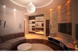 Искусственное освещение гостиной