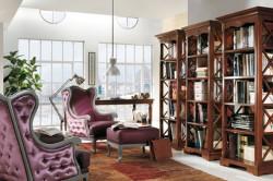 Гостиная + библиотека