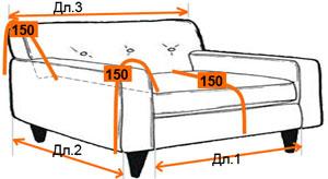 Как правильно сшить чехол для дивана своими руками