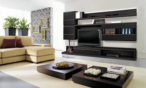 Мебель в интерьере гостиной
