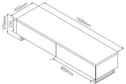 Схема простейшей тумбы под телевизор