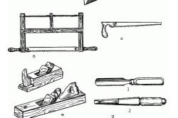 Инструменты для изготовления письменного стола