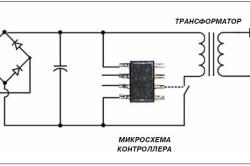 Электрическая схема светодиодного светильника