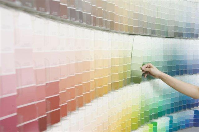 Цветовые схемы колеровки
