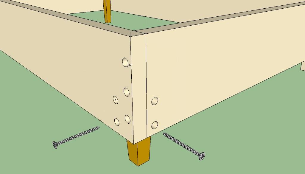 Тахта чертежи и схемы сборки
