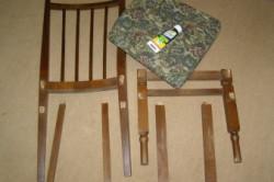 Разборка старого стула