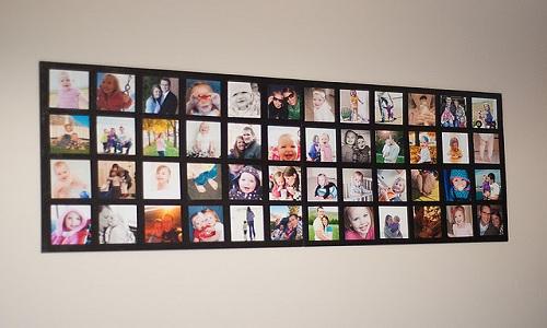 Коллажи из фотографий своими руками на стену