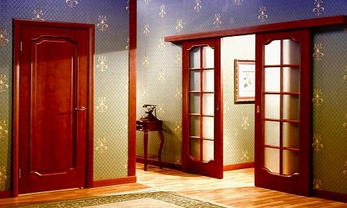 Декор старой двери