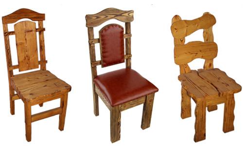 Деревянные стулья под старину