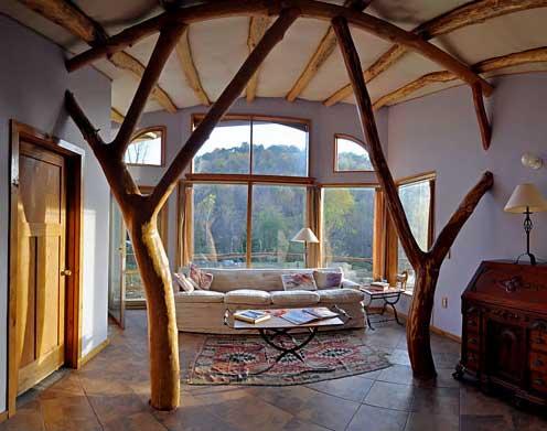 Квартира из дерева своими руками