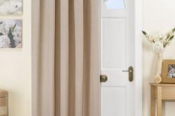 Дверь со шторами