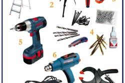 Перечень инструментов для монтажа натяжных потолков