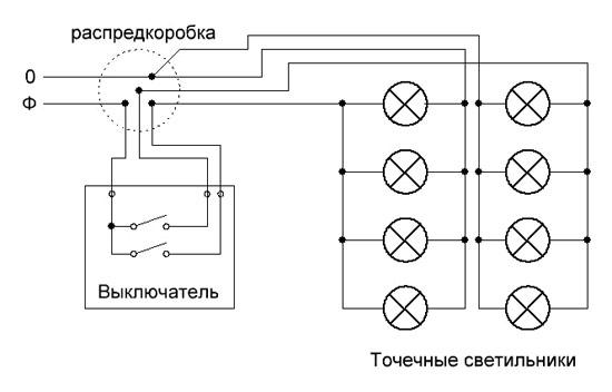 Эллектрическая схема