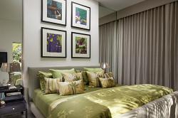 Спальня в мягких тонах