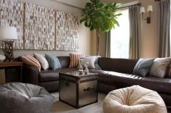 Выбор мебели для небольшого зала