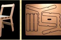 Раскладка деталей стула