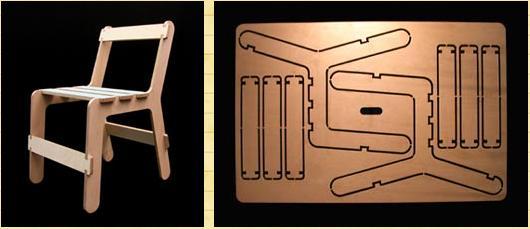 Как сделать складной стул из фанеры своими руками