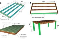 Этапы изготовления деревянного стола