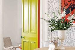 Окрашенные двери
