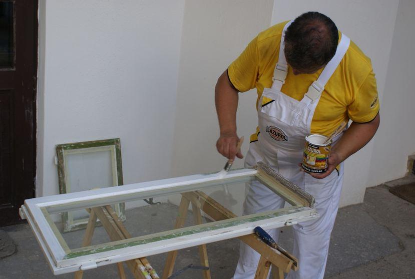 Как сделать раму к старым окнами