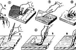 Этапы лакировки и окраски деревянного журнального столика