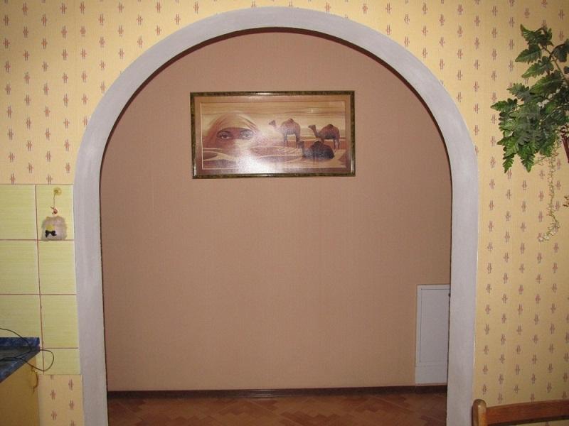Оформление арки в квартире обоями своими руками 96