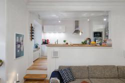 Пример кухни-студии