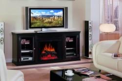 Главное при сочетании камина и телевизора в интерьере расположить  их