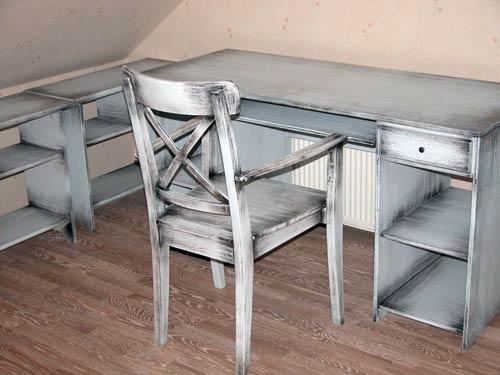 Как сделать своими руками мебель под старину