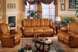 Набор кожаной мебели