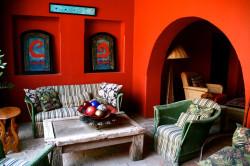 Гостиная-столовая в мексиканском стиле