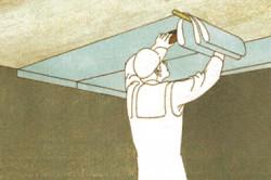 Гостиницы оклейка потолка обоями приспособления лице