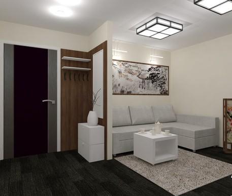 Дизайн прихожая гостиная фото