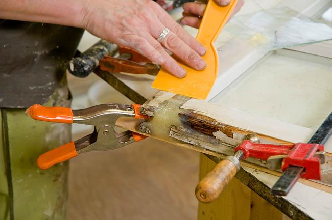 Ремонт деревянных оконных рам своими руками