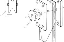 Межкомнатная дверь на роликах