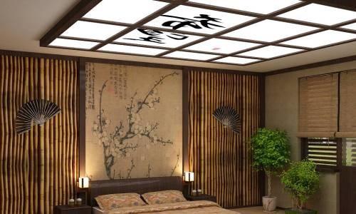 Японские светильники в интерьере