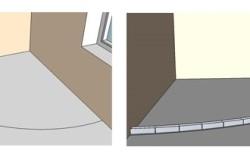 Полукруглая стена из гипсокартона