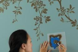 Нанесение краски с помощью кисти