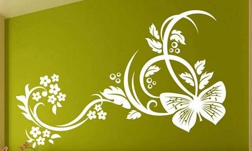 Как сделать объемный декор стене