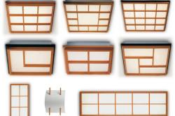 Виды японских светильников