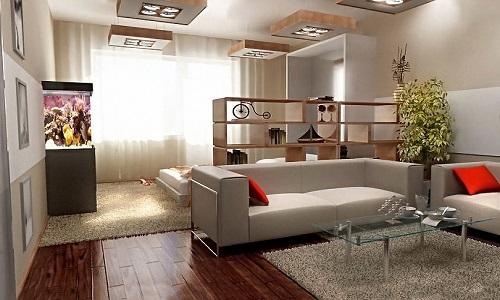 Дизайн гостинной в хрущевке