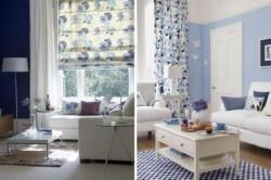 Примеры оформления комнат с применением цвета индиго