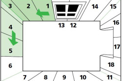 Рекомендуемый порядок поклейки обоев в комнате