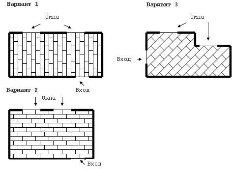 Схемы укладка ламината